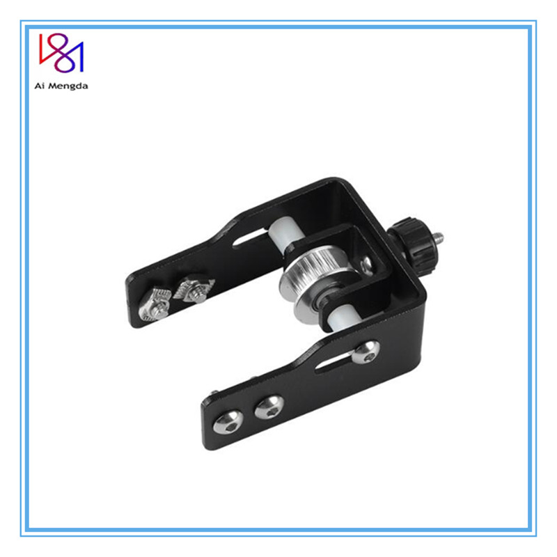 3D Printer Parts Black 2040 Profile Y-axis Synchronous Belt Stretch CR10 Straighten Tensioner For Creality CR-10 CR10S