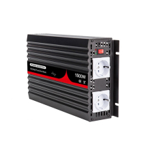 1500W Pure Sine Wave Inverter 12V/24V/48V DC to 100V/110V/120V/220V/230V/240V AC 50/60HZ Voltage transformer Power Inverter power inverter dc 12v 24v to ac 220v 230v 240v 3000w converter modified sine wave inverter