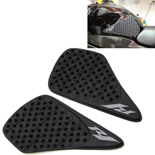Motorcycle Anti slip Tank Pad 3M Side Gas Knee Grip Traction Protector Sticker For Yamaha YZF R1 2007 2008 YZF-R1 YZF R-1 YZFR1 for yamaha yzf r3 r25 2015 2016 tank traction pad anti slip 3m sticker motorcycle side decal gas knee grip protecto logo r3