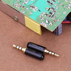 Image 3 - 2 uds. De conector de cable de 3,5mm, 1/8 pulgadas, conector TRRS de 3,5 MM, 4 puertos, adaptador de Audio estéreo para dispositivos de reparación de auriculares DIY