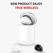 Sqrmini X20 Ultra Mini Draadloze Koptelefoon Verborgen Kleine Bluetooth Headset 3 Uur Muziek Spelen Knop Controle Oordopjes Met Lading Cas