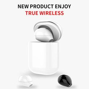 Image 1 - Sqrmini X20 Ultra Mini Draadloze Koptelefoon Verborgen Kleine Bluetooth Headset 3 Uur Muziek Spelen Knop Controle Oordopjes Met Lading Cas