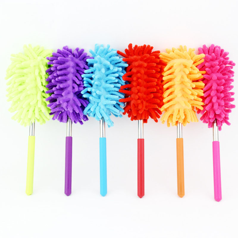 Adjustable Microfiber Dust Brush Stretching Air Conditioning Household Furniture Cleaning Accessories