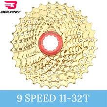 Bolany Fahrrad Kassette 8S 9S 10S 11 Geschwindigkeit 11-25 11-28 11-32 11-36T Bike Road MTB Freilauf Cogs Kettenrad Kompatibel 105 R8000 R7