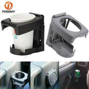 POSSBAY Car Cup Holder Mount Stand Holders Auto Supplies Folding Bottle Coffee Drink Holder Universal for BMW Ford Nissan Golf