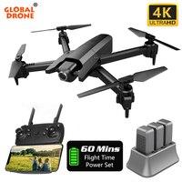 4K Дрон Квадрокоптер с камерой HD RC вертолет игрушки камера Дрон X Pro складной Квадрокоптер VS E58 E68 E520 SG106