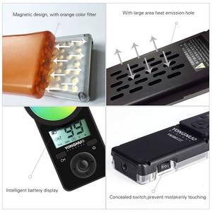 Image 4 - Yongnuo yn360 iii yn360iii bi color handheld luz de vídeo led toque ajustando 3200k  5500k rgb colortemperature com controle remoto