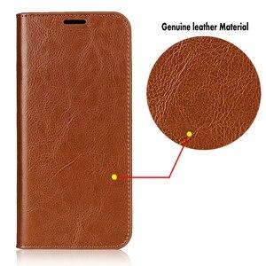 Image 3 - Echtes Leder Fall für Coque Samsung Galaxy A42 A21S A31 A51 A71 A41 A21 A01 A50 A30 A50S A40 A10 stehen Abdeckung Brieftasche Funda Tasche