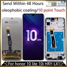 LCD dorigine pour Honor 10 Lite affichage pour HUAWEI Honor 10 i affichage écran tactile avec cadre HRY LX2 HRY AL00 HRY LX1 10 points