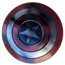 Super herói arma 1:1 cheio de metal escudo super herói redondo escudo arma halloween cosplay prop filme cos crianças role play presente