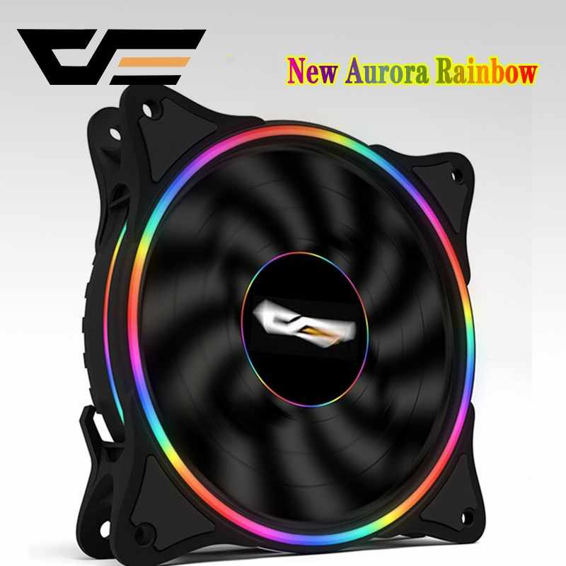 Aigo D1Computer PC Case Fan LED Fan Speed 120mm Computer Cooler Cooling RGB Case Fans