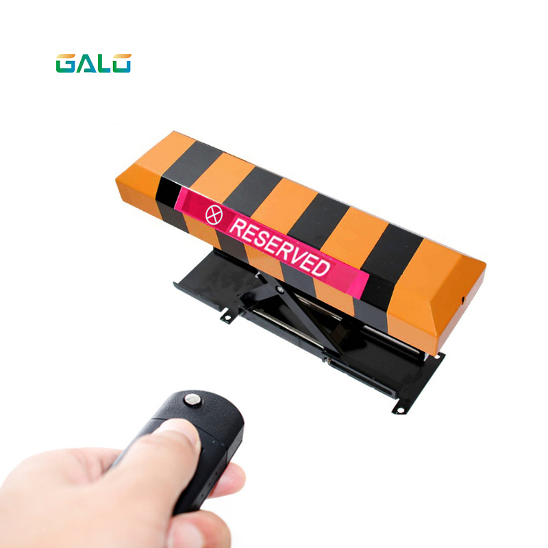2pcs Remote Control Car Parking Lock X Type Automatic Lifting