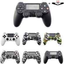 Bluetooth sem fio/com fio controlador para sony ps4 gamepad joystick gamepads para ps3 console para win 7/8/x
