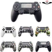 Do kontrolera Playstation 4 bezprzewodowy kontroler z Bluetooth dla Sony PS4 Gamepad Joystick do PS3 konsola do gier dla Win 7/8/X