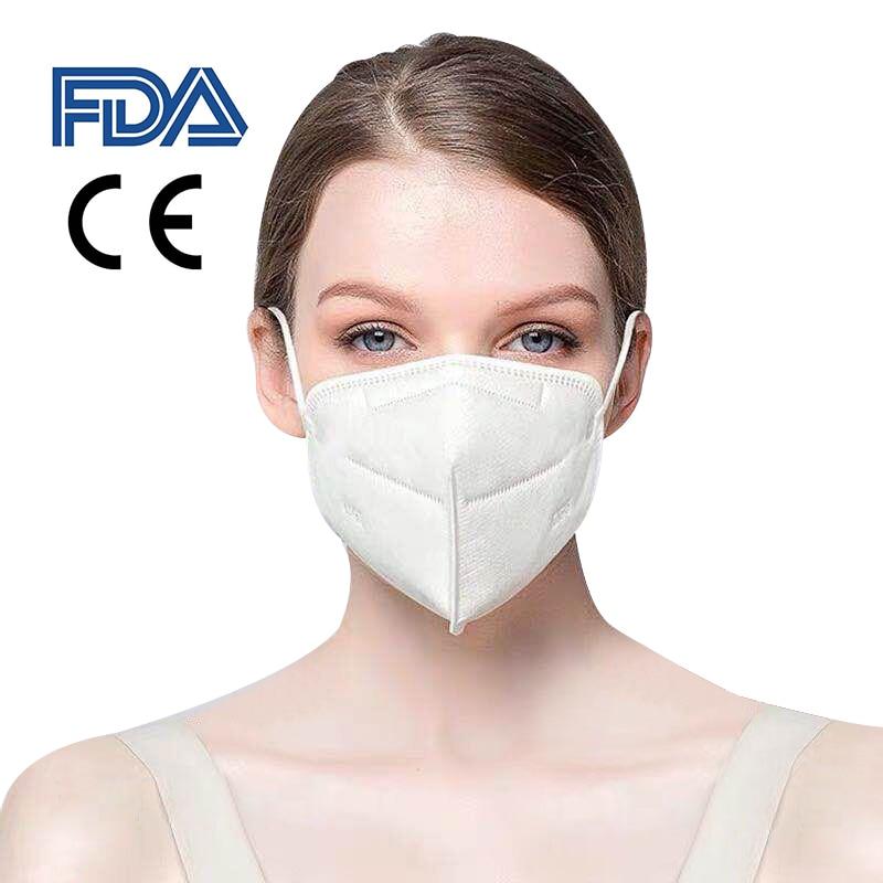 100PCS High Standard Mask Earloop Face Mouth Masks Anti-Dust Mask Safe Breathable Mouth Mask Multiple Protective Masks