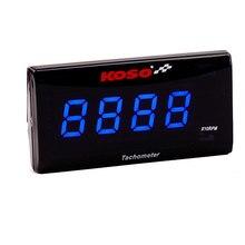 Koso medidor de temperatura para motocicleta, medidor de temperatura digital com display digital de 0 a 20000 rpm, para yamaha nmax, 0 ~ 120 graus bmw kawasaki