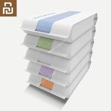 100% neue Original Youpin ZSH Bad Handtuch Waschlappen Baumwolle Handtuch Junge Strand Handtuch Waschlappen Antibakterielle Wasser Absorption