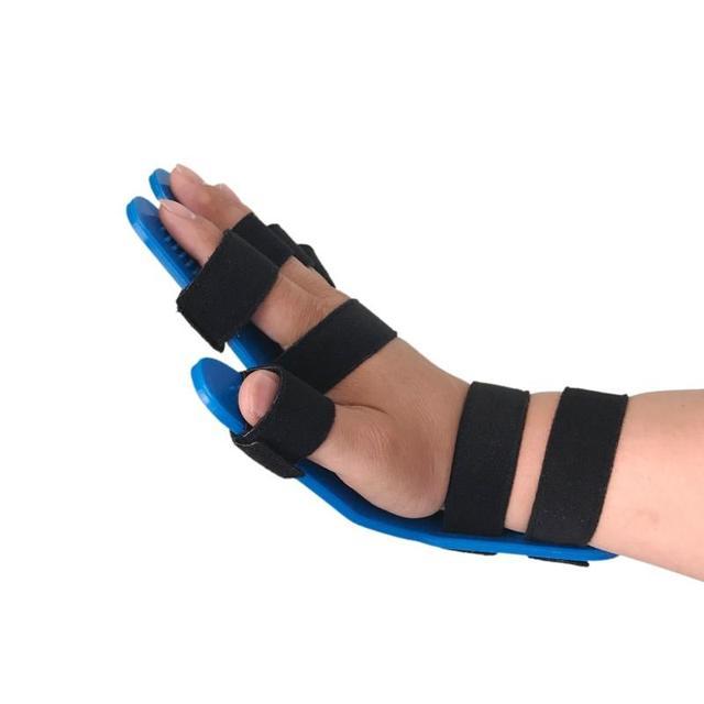 Mão fisioterapia reabilitação dedo separador aplicável ao curso hemiplegia pacientes reabilitação equipamentos 3