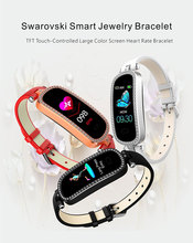 I99 smart bracelet female smart watch jewelry watch for Hua wei xiaomi Android IOS heart rate blood pressure Lady smartwatch