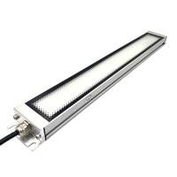Işıklar ve Aydınlatma'ten Endüstriyel Aydınlatma'de 24W 30W 36W Led PANEL AYDINLATMA 24V DC CNC makinesi iş araçları çalışma aydınlatma temperli buzlu cam su geçirmez IP67 ücretsiz kargo