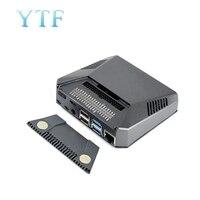 Raspberry Pi 4 B ARGON ONE + алюминиевый чехол Корпус адаптера пластины Охлаждающие вентиляторы +