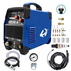 Cortador de Plasma IGBT Cortador de Plasma por aire CUT50 220V 50a 10-20mm, máquina de corte limpio, máquina de corte por Plasma de aire, inversor de corte HF