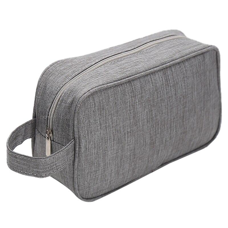 Women Men Small Waterproof Makeup Bag Travel Beauty Cosmetic Bag Organizer Case Necessaries Make Up Toiletry Bag