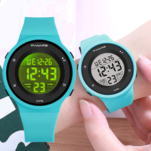 PANARS Kid Digital Watches Sports Children Waterproof LED Colorful Luminous Mult