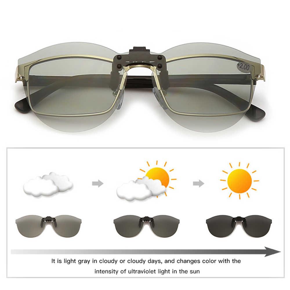VIVIBEE 2020 Polarisierte Pilot Flip Up Clip auf Sonnenbrille Männer