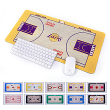 Mouse Pad Oversized Warriors Raptors Lakers Nets Spurs Creative Basketball Gift Pen Bag Table Mat Decoration For Basketball Fans