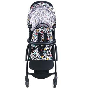 Image 3 - Bebek arabası ayak ve deri kumaş malzeme gidon arabası aksesuarları için Babyzen Yoyo yoga Babytime arabası tampon