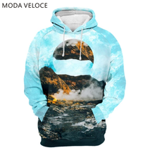 MODAVELOCE Aviation Hoodie Polyester With Wool Casual Hooded Sweatshirt Man Streetwear Anime's Women Hoodies With Hoodie(China)