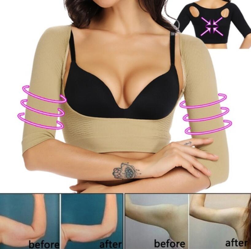 Compresion Arm Shaper Sauna Arm Slimming  Shapewear With Sleeve Back  Shoulder Posture Corrector Humpback Arm Contro Underwear