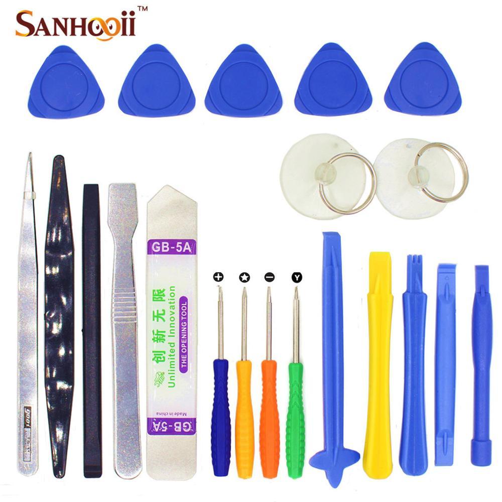 20 In 1 / 21 In 1 Opening Mobile Phone Repair Tools Kit Handy Screwdriver Hand Tools Set For IPhone IPad Samsung