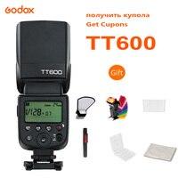Godox TT600 2 4G Flash inalámbrico Speedlite maestro/esclavo con construido en el sistema para Canon Nikon Pentax Olympus Fujif