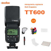 Godox TT600 2.4G Wireless Flash Speedlite Master / Slave Flash with Built-in Trigger System for Canon Nikon Pentax Olympus Fujif