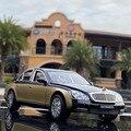1:24 Benz Maybach 62s S650 брелок для автомобильных ключей, модель Diecasts движущиеся и игрушечные металлические транспортные средства модель автомобиля...