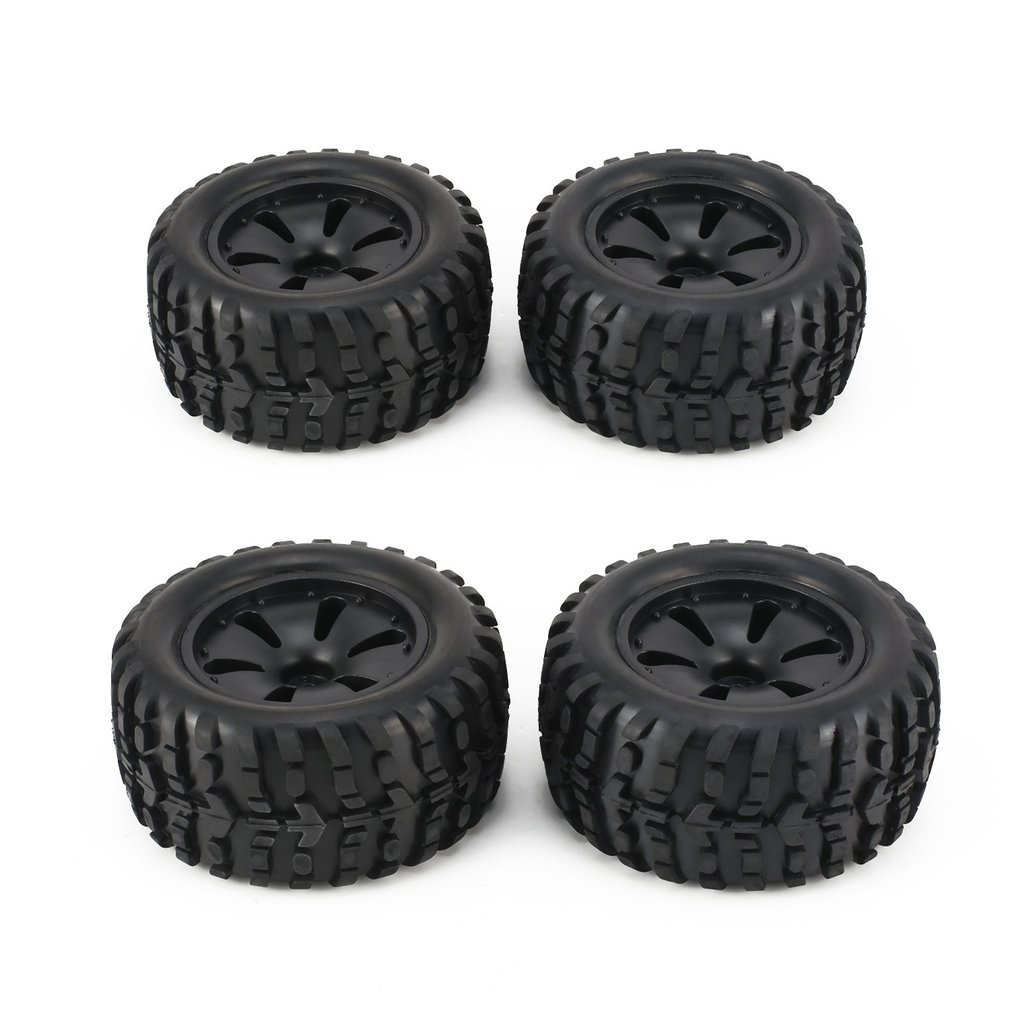 1 Pair 1:10 RC Car Tire Monster <font><b>Truck</b></font> Rim solid Wheel High Speed for HPI, Savage, XS, TM Flow, MT, ZD Racing <font><b>Parts</b></font> Refit 120mm H image