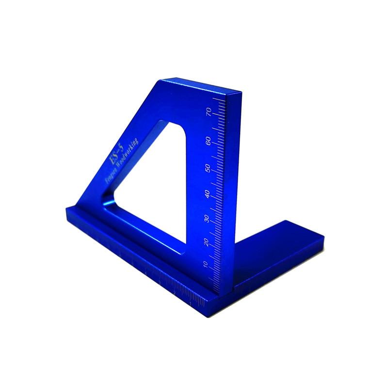 Multifuncional ângulo régua 45 90 graus liga