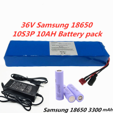 36V 10S3P 10Ah For Samsung 33G 18650 10ah 8ah with 15A BMS 42V lithium battery pack e-bike electric car bicycle + 42V 2A Charger liitokala 36v 8ah battery pack high capacity lithium batter pack include 42v 2a chager