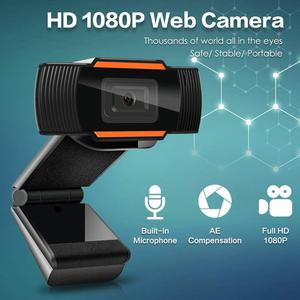 Manual 1080P HD Webcam Web Camera With MIC MICROPHONE For Computer For PC Laptop Skype MSN