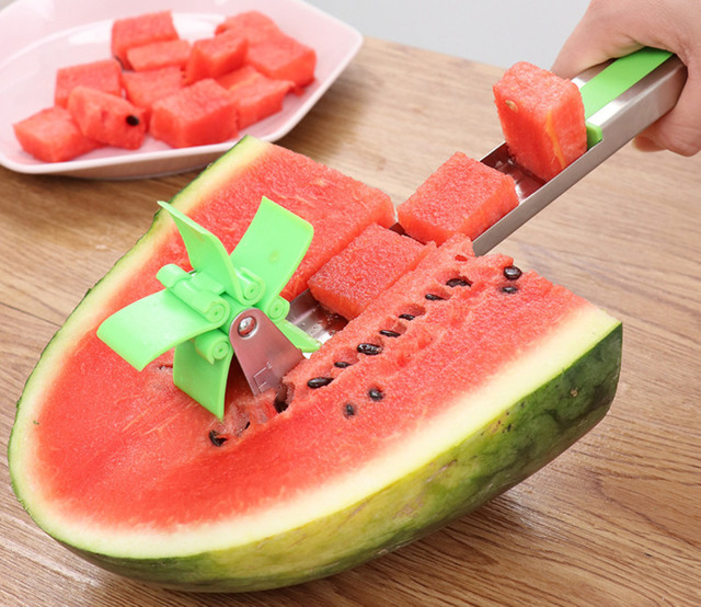 304 Stainless Steel Summer Cut Watermelon Creative Separator Fruit And Vegetable Tools Gadgets Kitchen Dining Bar Accessories