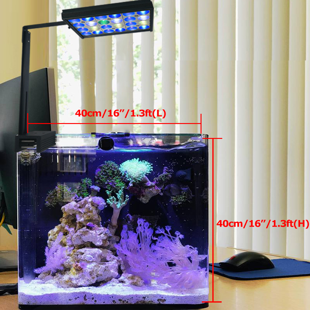 DSunY led aquarium lamp for aquarium led lighting aquarium reef coral marine aquarium lighting led tank remote control Shannon16