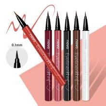 ZHENDUO 6 colors beauty beginner waterproof eyeliner sweat-proof not blooming  long-lasting liquid pencil eye liner