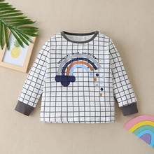 Jackets Baby-Boys-Girls Spring Toddler Winter Children Warm And Outdoor-Cloth Rainbow-Print