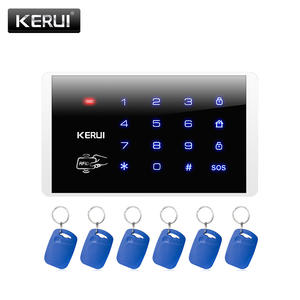 KERUI Alarm-System Keyboard Touch-Screen Wireless Keypad RFID for Home-Security Disarm