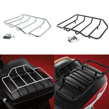 Motorcycle Tour Pak Pack Luggage Top Rack For Harley Touring Road King Electra Street Glide Ultra Limited 1984-2019