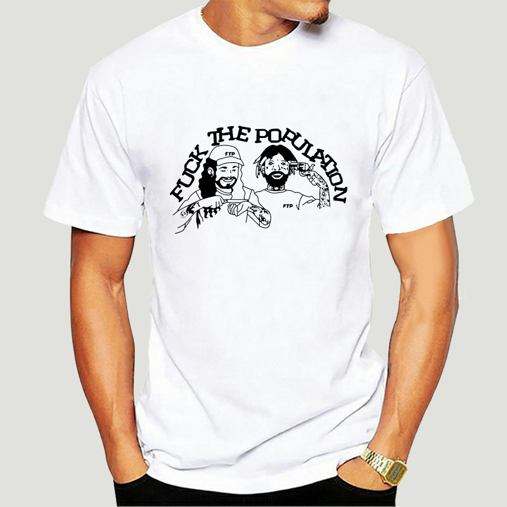 Rare Ftp T Shirt Uicideboy Ghostemane Lil Uzi Xan Yachty Top Quality T Shirt-4659D