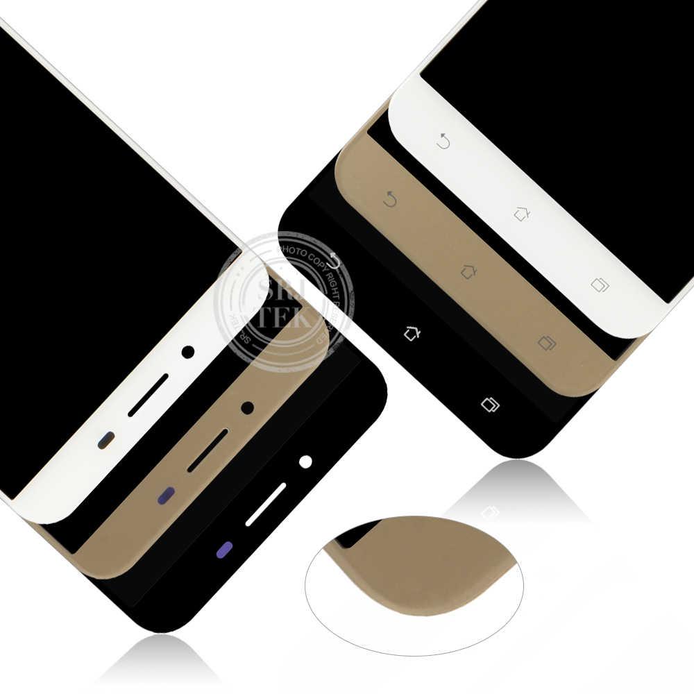 """Asus Zenfone 5 3 最大 ZC553KL 液晶ディスプレイパネルのタッチガラスセンサアセンブリ 5.5 """"1280*720 のための asus ZC553KL ディスプレイ X00DA"""