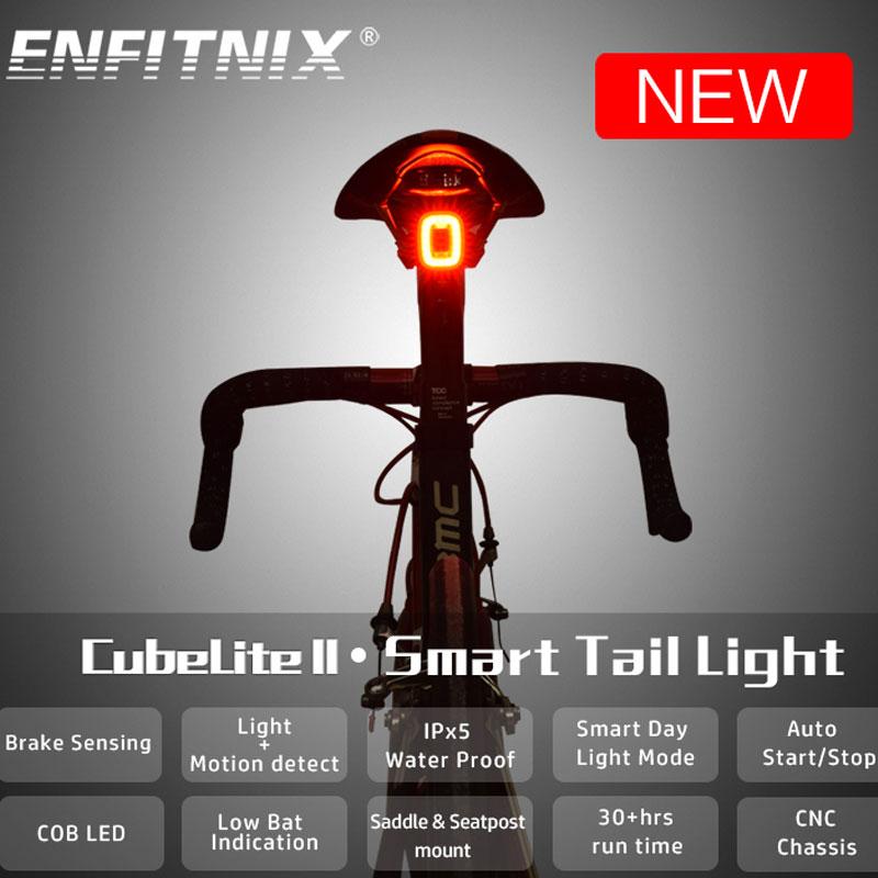 Купить задний фонарь для велосипеда enfitnix cubelite 2 водонепроницаемый